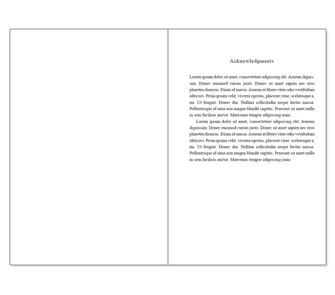 microsoft word book template