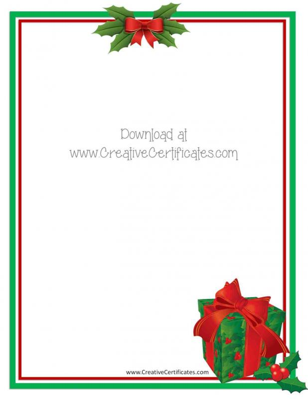 microsoft word gift certificate template