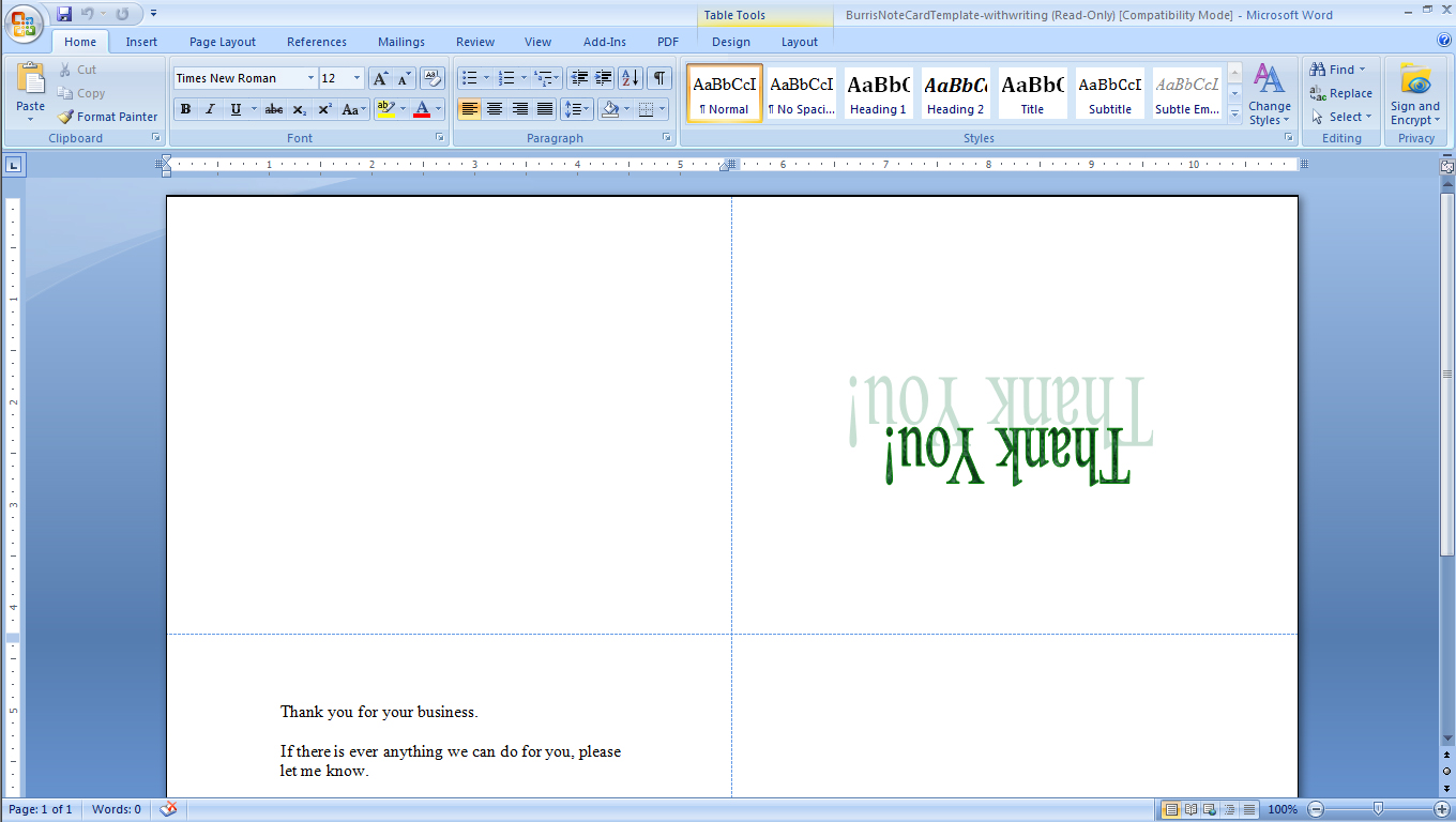 microsoft word recipe template