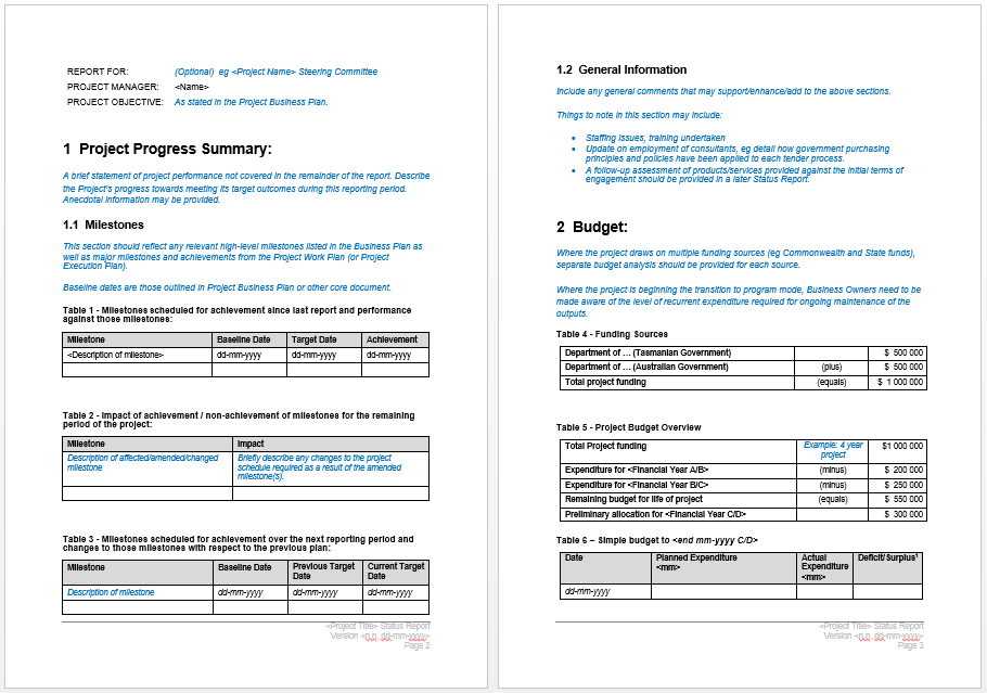 Microsoft Word Report Templates  Ms Word Report Templates Free