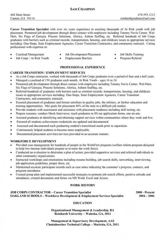 ministry resume templates