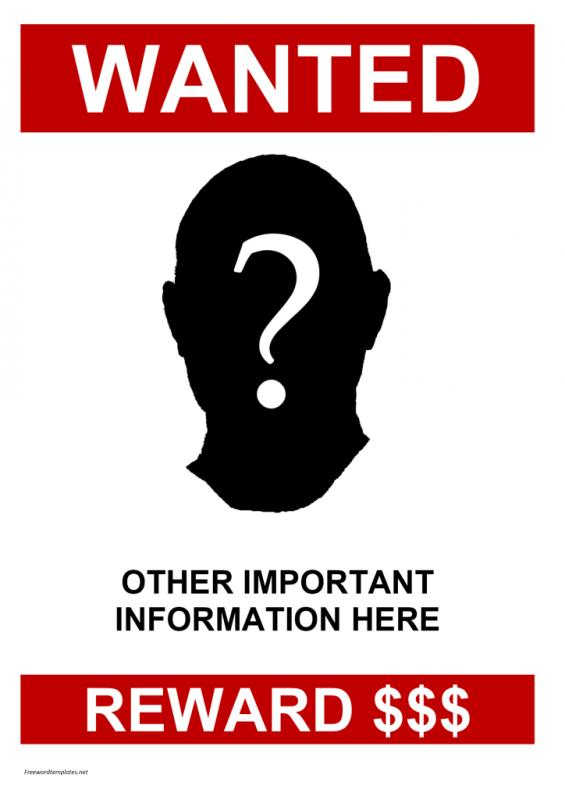 Missing Person Template Missing Person Poster Template  Shatterlion