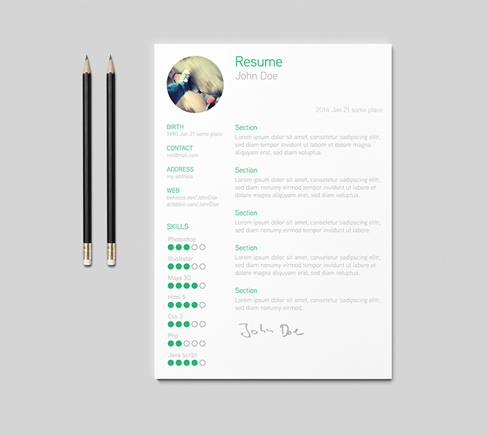 Free Resume Template Mac Custom resume templates for pages mac ...