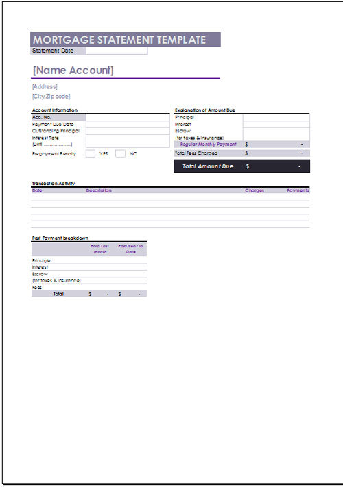 Mortgage excel template shatterlionfo mortgage excel template maxwellsz