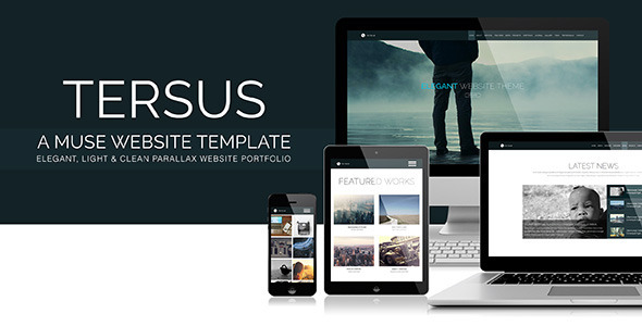 muse templates responsive