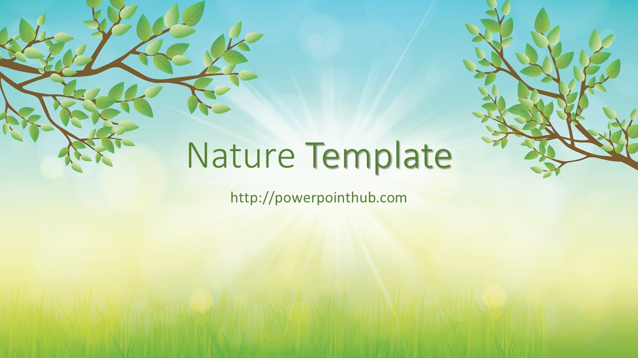Nature powerpoint templates shatterlionfo nature powerpoint templates toneelgroepblik Choice Image