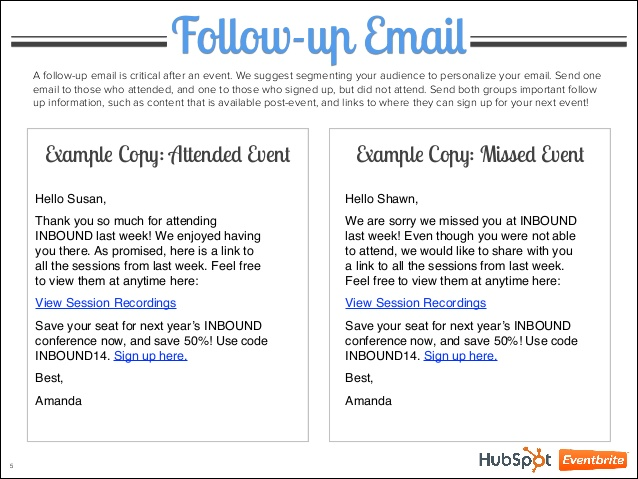 networking email template