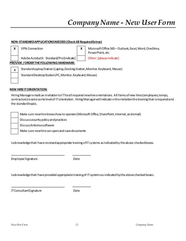 New Hire Forms Template | shatterlion.info