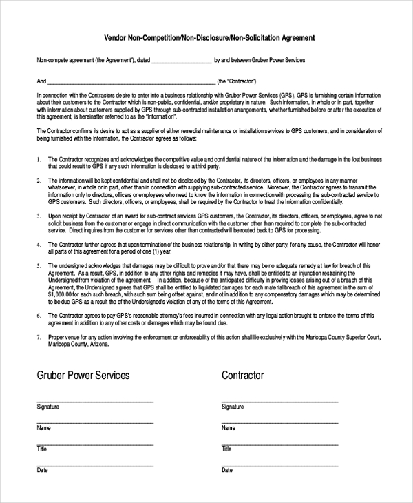 Non Disclosure Agreement Template Word Shatterlion Info