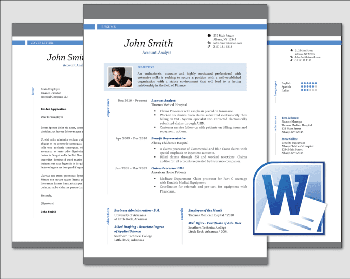 online resume template