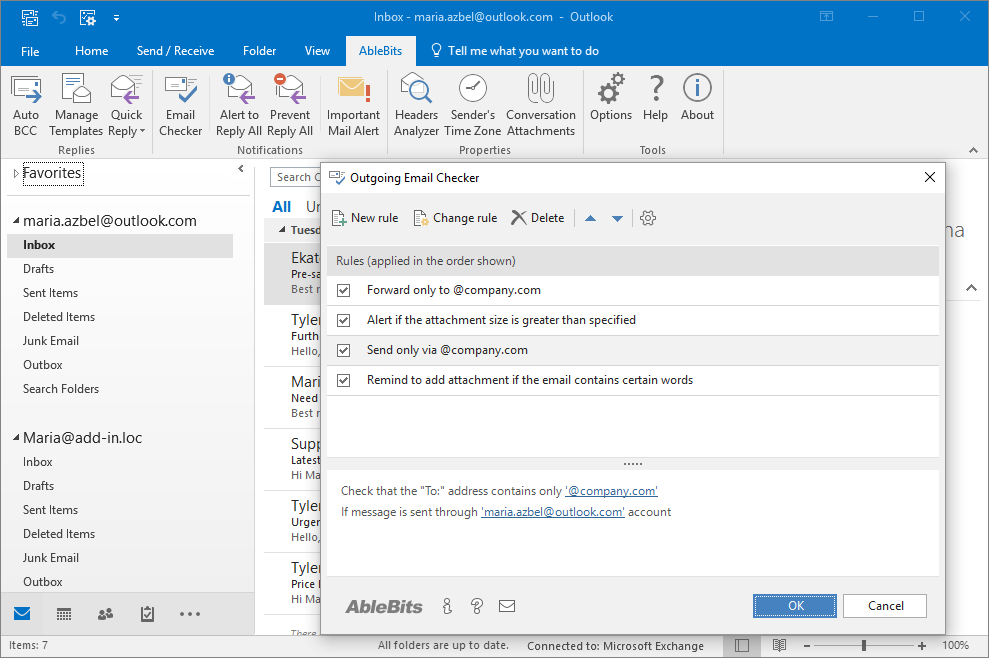Outlook 2016 email template for Hotmail email template