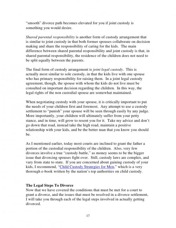 Parenting Agreement Template Parenting Agreement Templates  Free