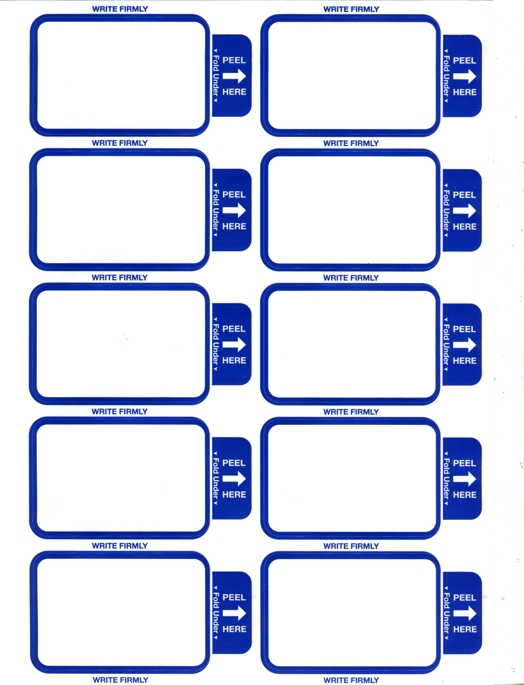 Parking Pass Template
