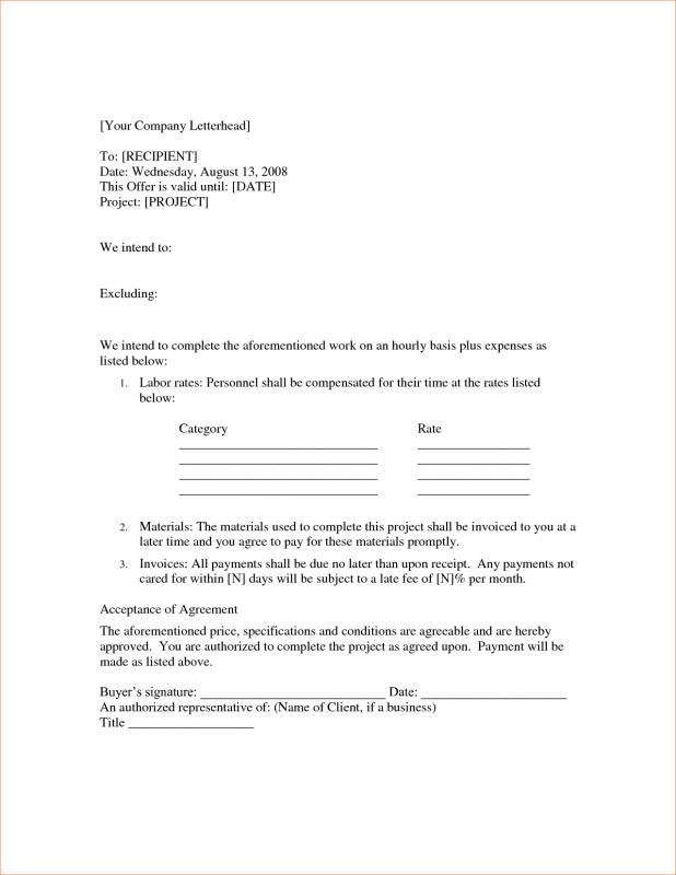 Payment Agreement Template Between Two Parties | shatterlion.info