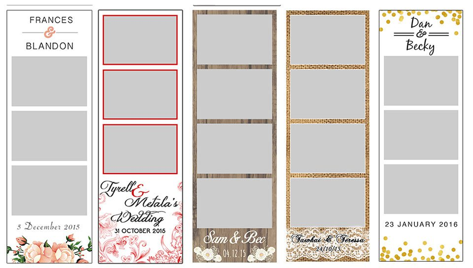 Photo Booth Strip Template | shatterlion.info