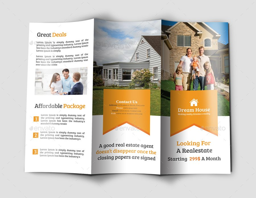 Photoshop Brochure Template Shatterlion Info