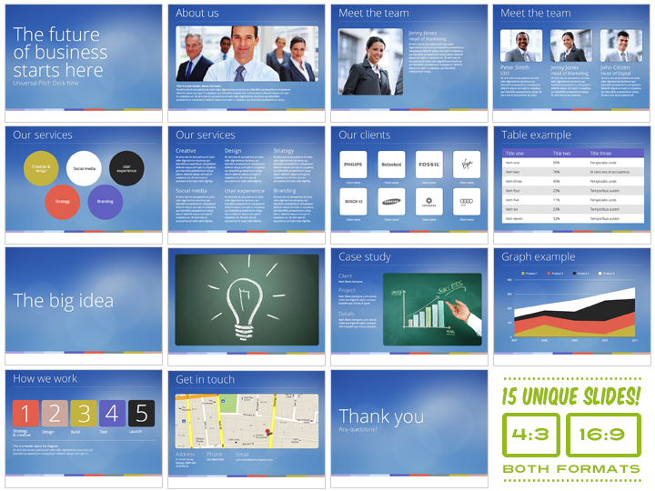 Pitch Deck Template | shatterlion.info
