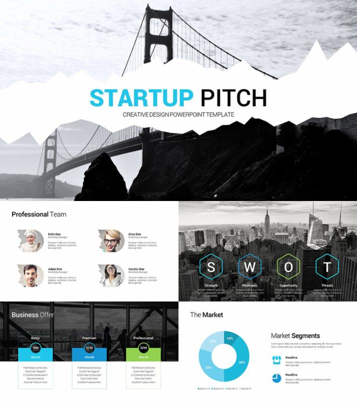 Pitch Deck Template Powerpoint Shatterlionfo