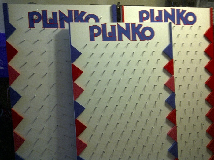 plinko board template