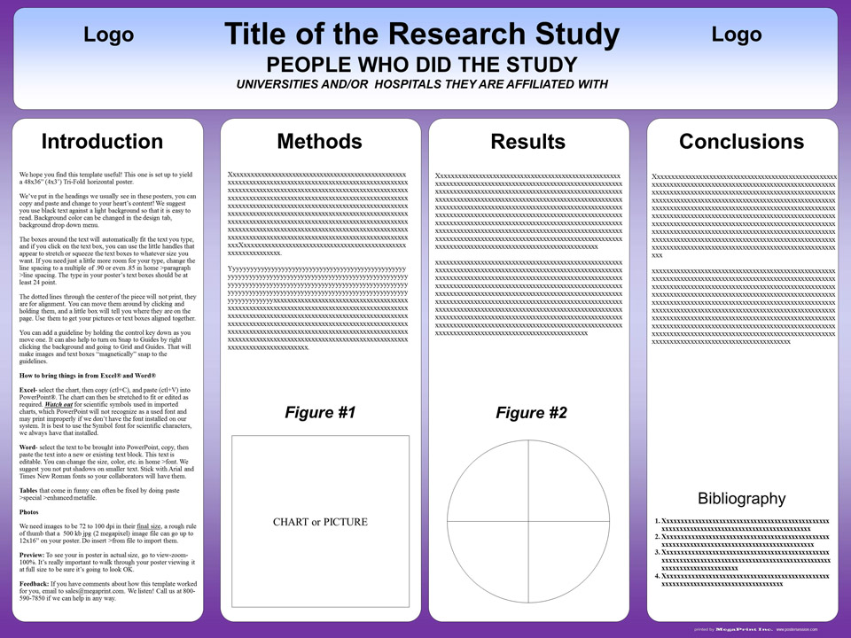 powerpoint research poster template
