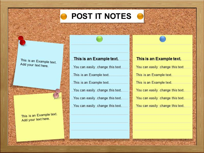 print on post it notes template