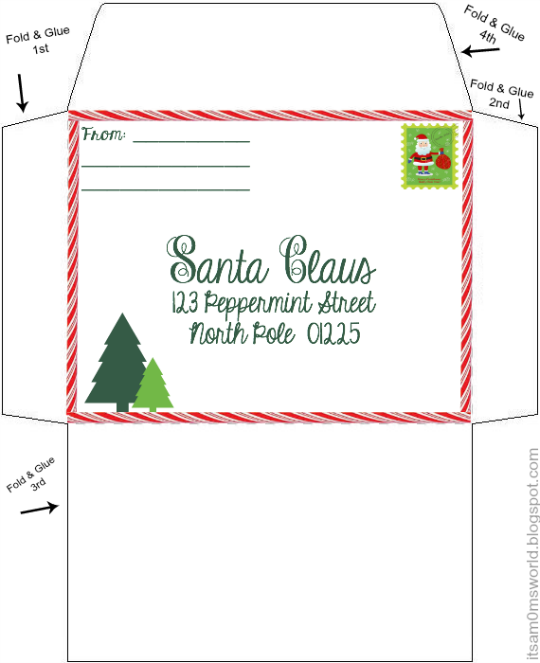 image about Printable Envelope Template called Printable Envelope Template
