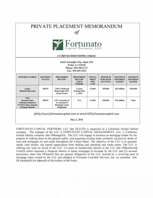Private Placement Memorandum Template Shatterlionfo