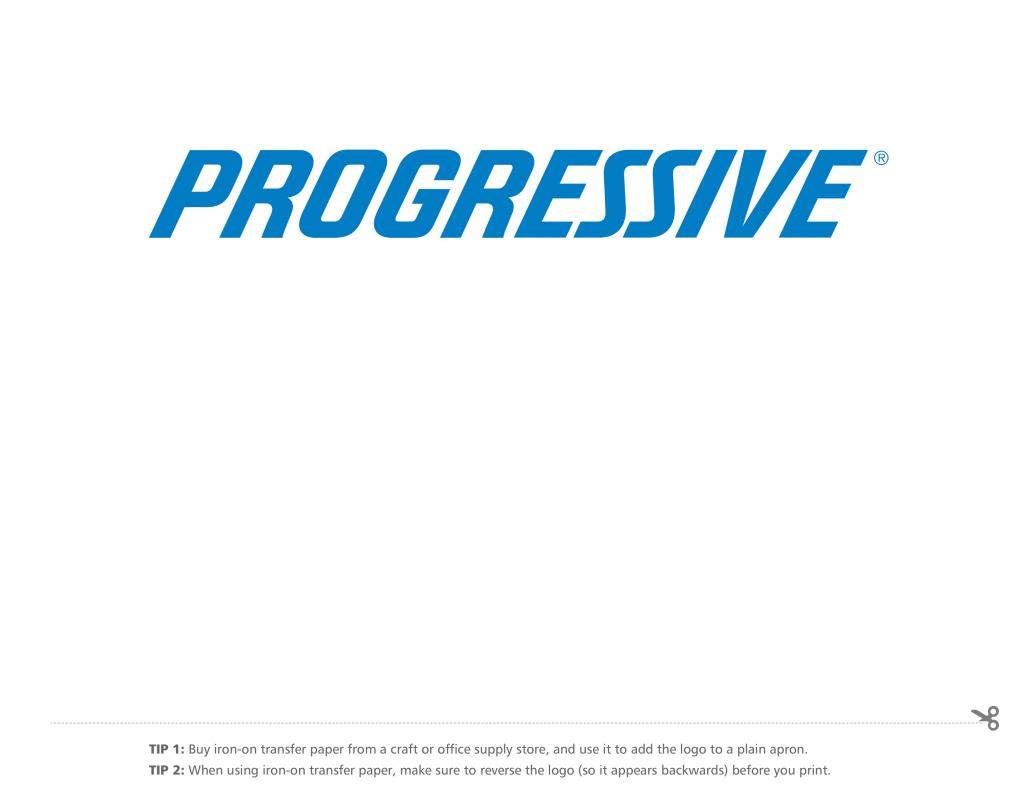 progressive insurance card template