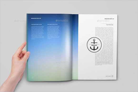 publisher booklet template