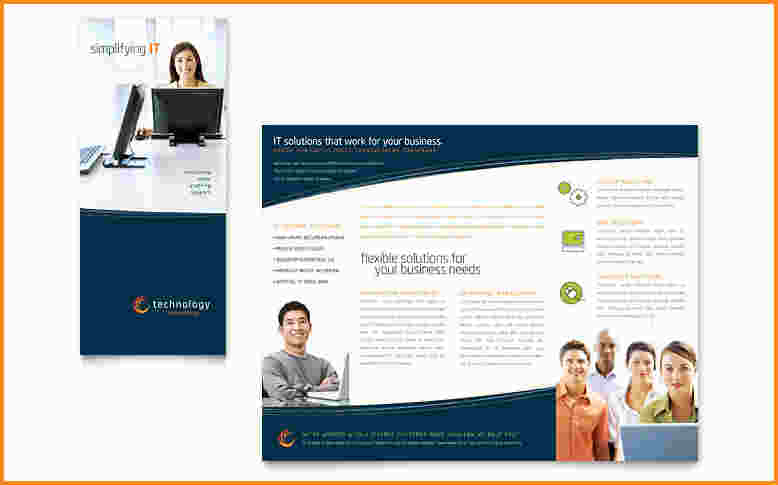 Publisher Brochure Templates Shatterlioninfo - Marketing brochure template free