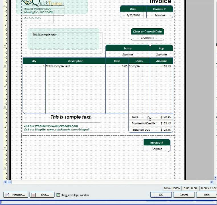 invoice template quickbooks commonpence co
