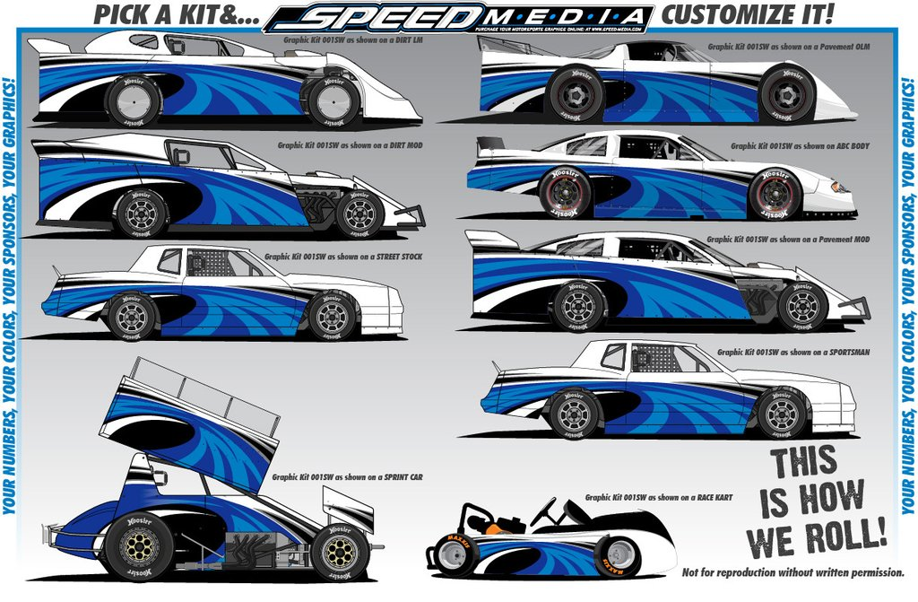 Race car graphic design templates for Car wrap design templates