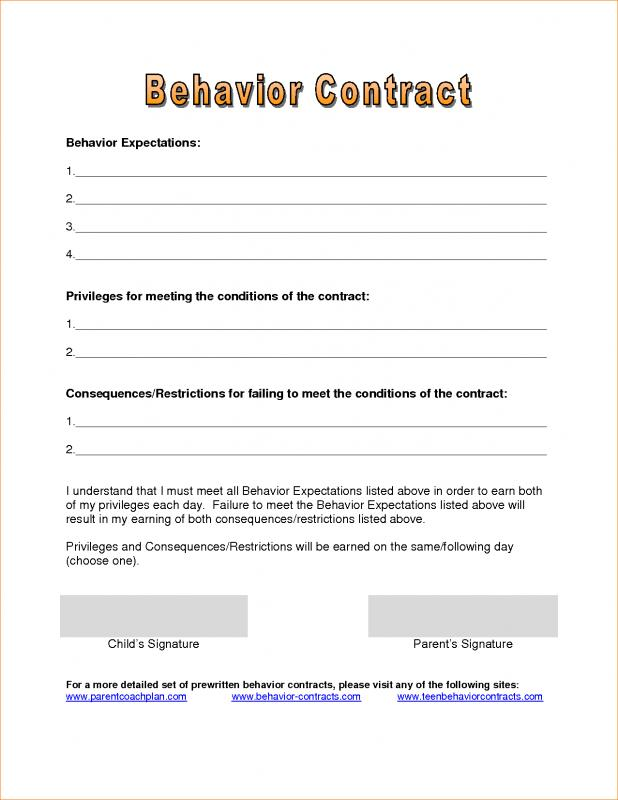 relationship contract template