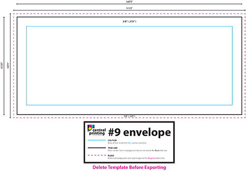 donation envelopes template