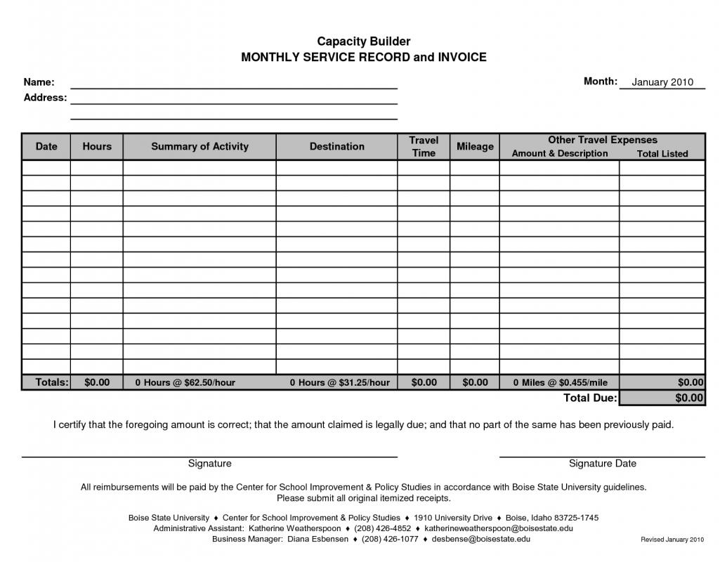 Rent Invoice Template Shatterlioninfo - Monthly rent invoice template