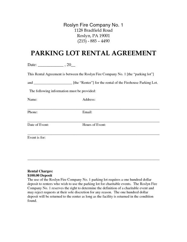 Rental Lease Template  ShatterlionInfo