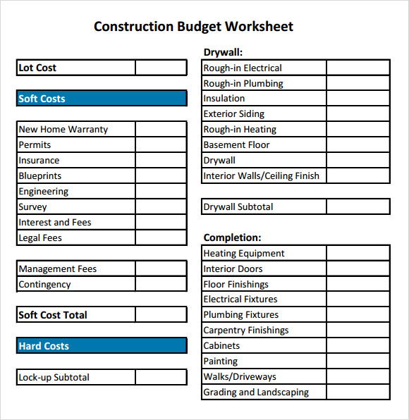 Sample budget calendar printable budget planning calendar template residential construction budget template excel shatterlioninfo flashek Choice Image