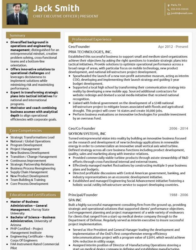 resumes that stand out templates