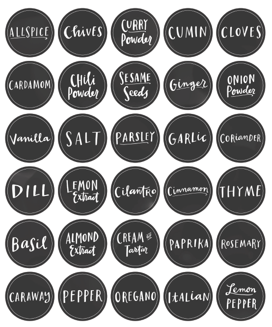 round label template