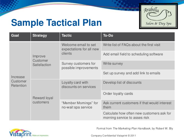 Sales Action Plan Template  ShatterlionInfo