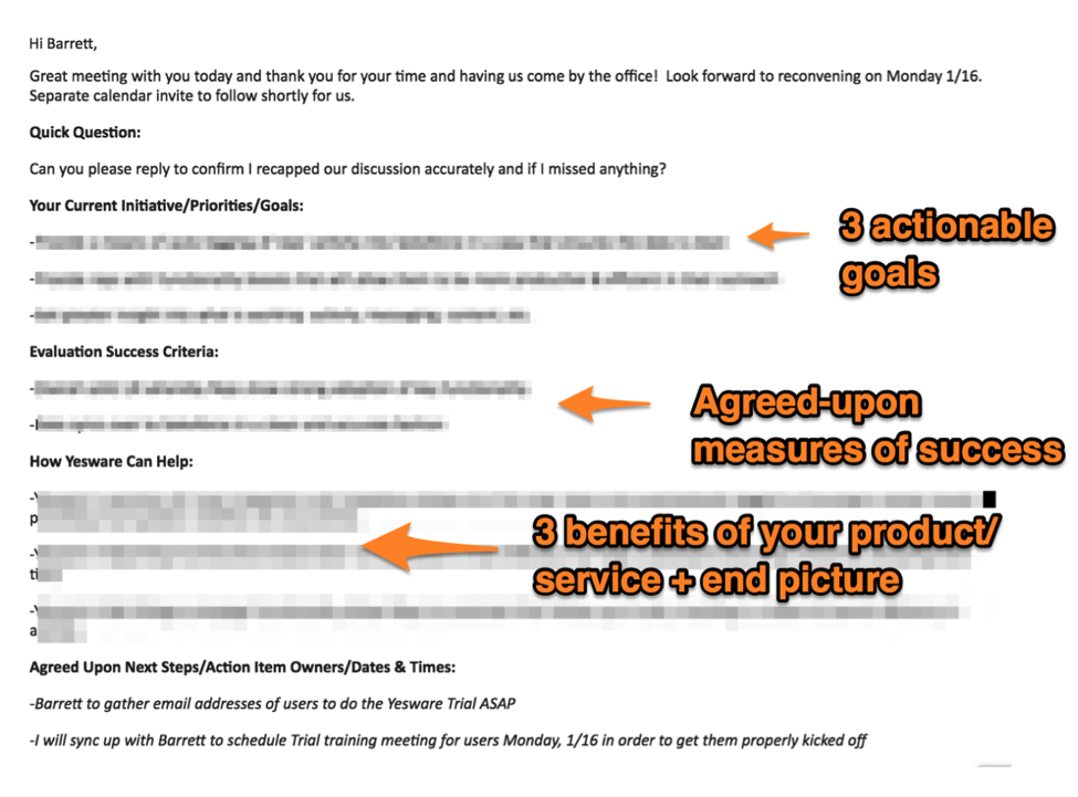 sales follow up email template