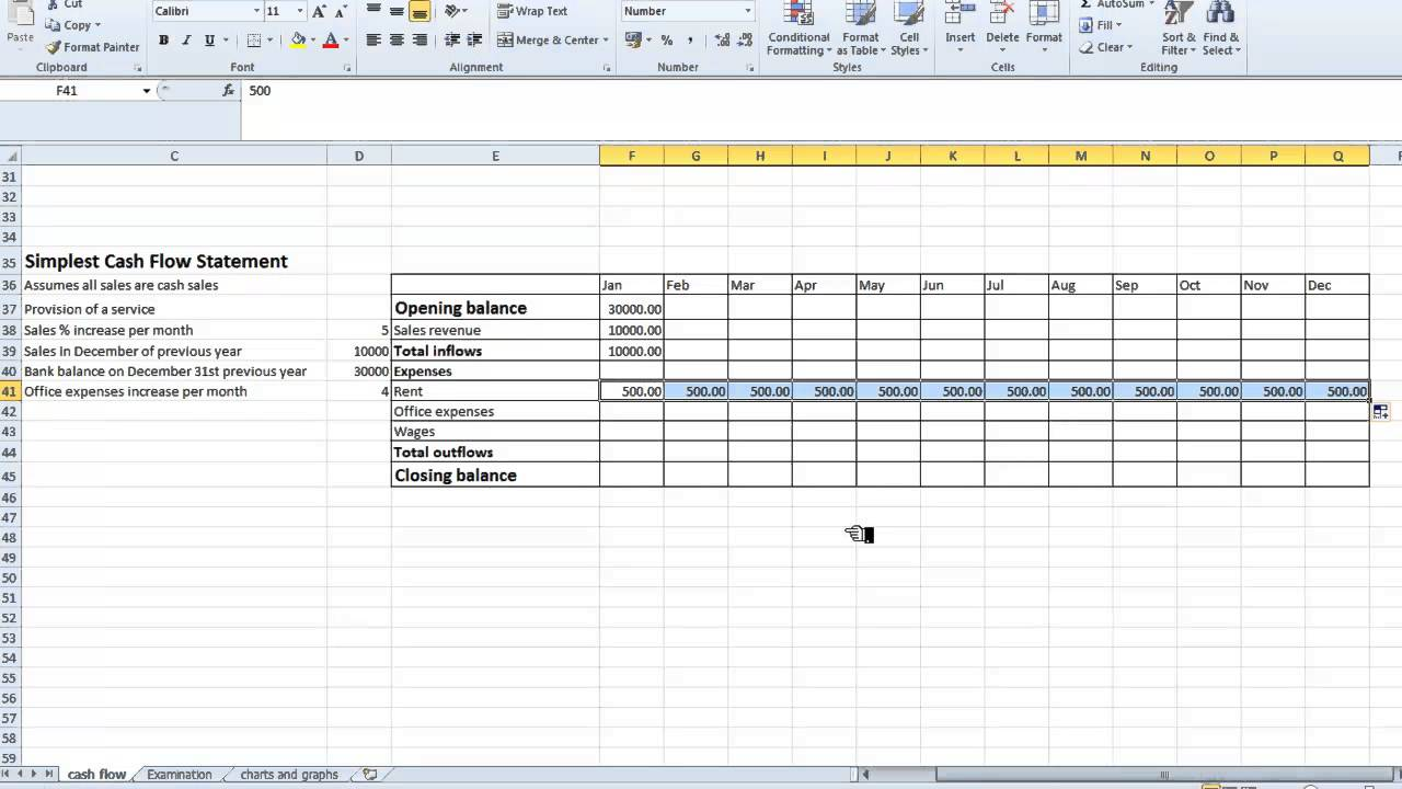 sales template excel