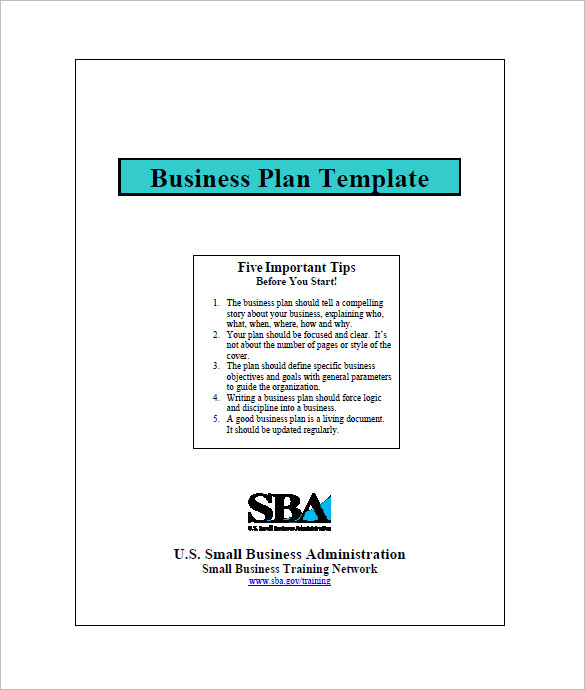 Sba Business Plan Template Shatterlioninfo - Business plan template sba