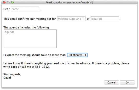 schedule a meeting email template