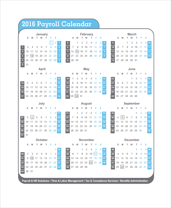 semi monthly payroll calendar 2017 template