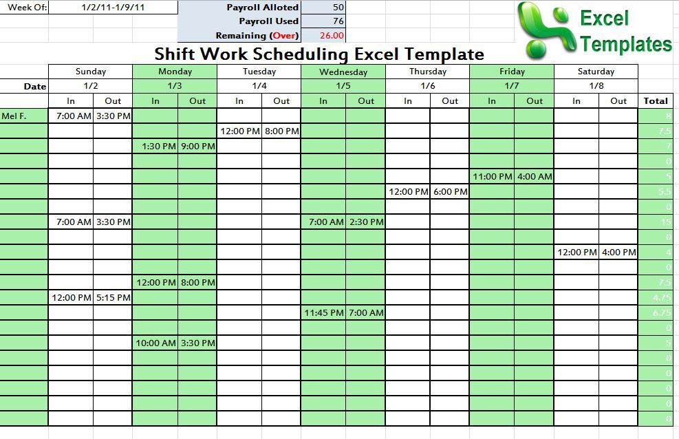 Shift Schedule Template Shatterlioninfo - 24 hour staffing schedule template