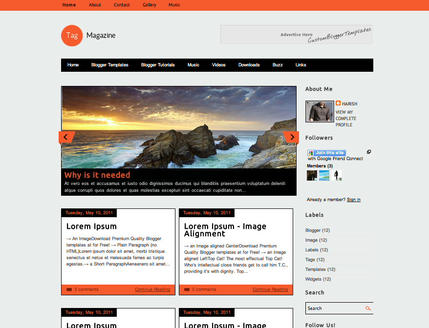 Simple Blogger Templates | shatterlion.info