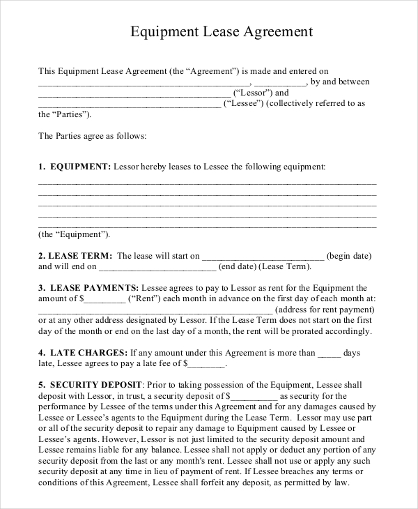 how to make a lease agreement for rental property