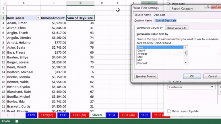 simple invoice template excel