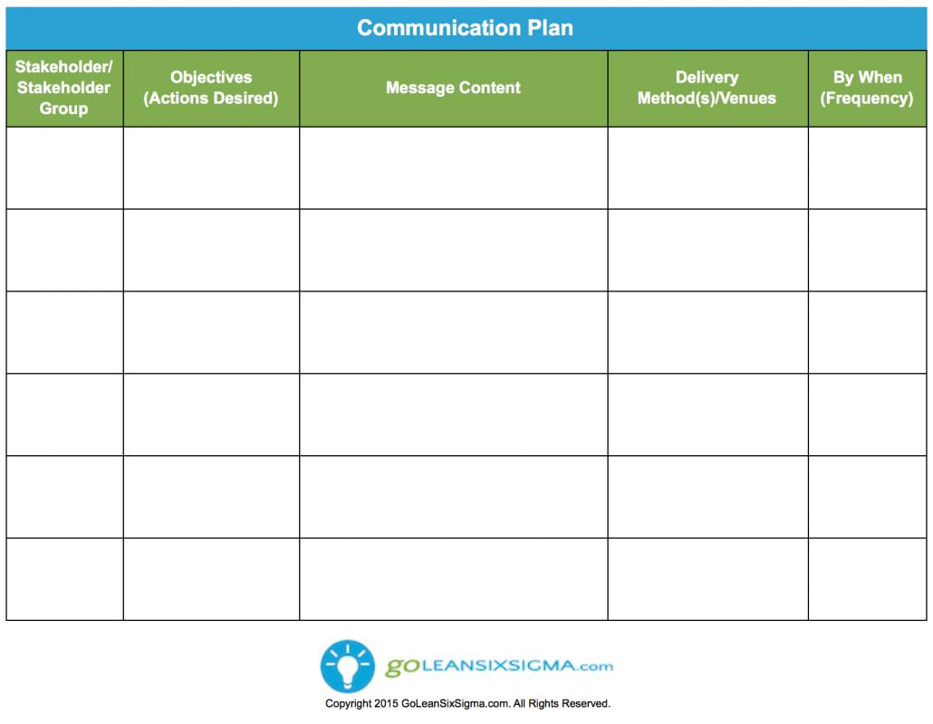 Simple test plan template for Emergency communications plan template